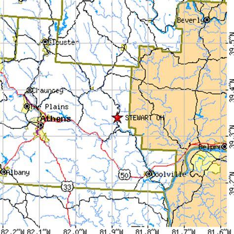 Stewart, Ohio (OH) ~ population data, races, housing & economy