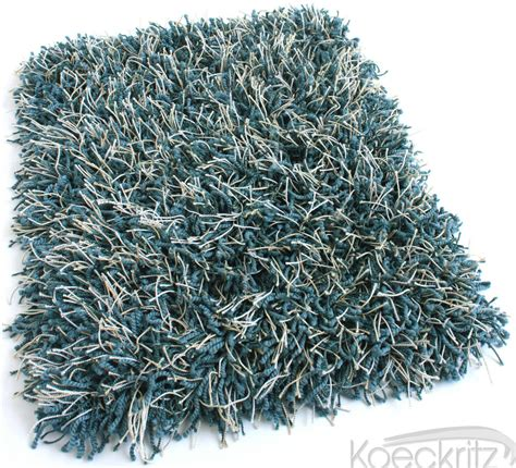 Shaggy Area Rugs by Tuftex Peacock Blue Bling Shag Area Rug Many Sizes Ultra
