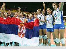 Serbia women's national volleyball team Wikiwand