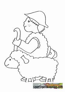 Bible Story David The Shepherd Boy Colouring Page Coloring ...
