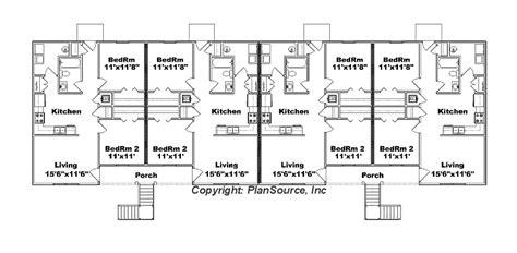 8-unit Apartment Plan