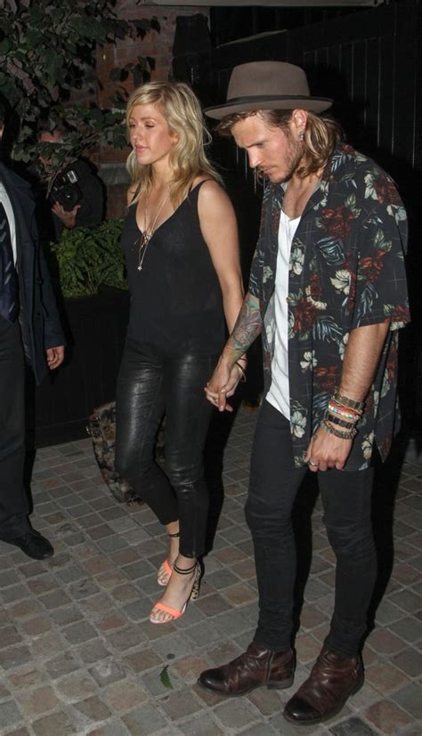 Ellie Goulding and Dougie Poynter snapped hand-in-hand as ...