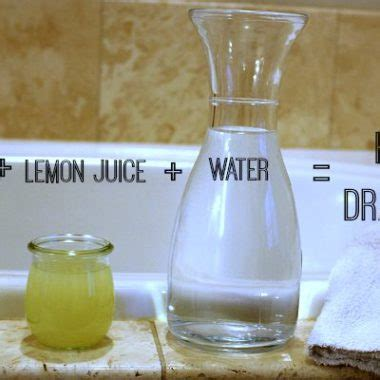 diy homemade drano recipe