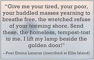 A Genealogy Quo... Emma Lazarus Famous Quotes