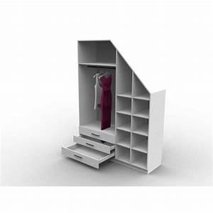 Dressing Sur Mesure Sous Pente : meuble sous pente avec dressing mod le emeride aryga ~ Melissatoandfro.com Idées de Décoration