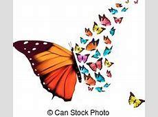 Vacker, blå, fjäril, bakgrund Vacker, hibiskus
