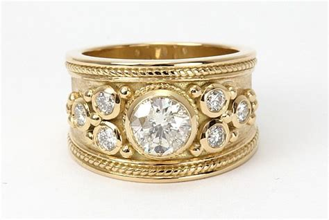 modern wide band engagement rings google search ring
