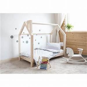 Lit Cabane Au Sol : lit cabane achat vente lit cabane pas cher cdiscount ~ Premium-room.com Idées de Décoration