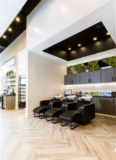lavish contour interior design hair salon decor salon