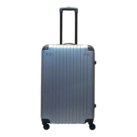 grote abs l castillo abs koffer tucson l zilver luggage 4 all
