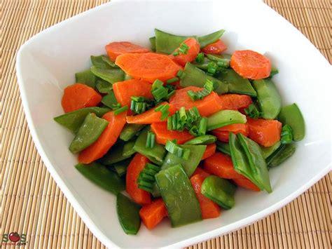 cuisiner mange tout carottes et pois mange tout au beurre