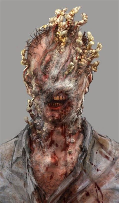 last monsters creature zombie concept monster horror game dnd cordyceps fungus zombies apocalypse fungal character nam hyoung leprosy characters fantasy