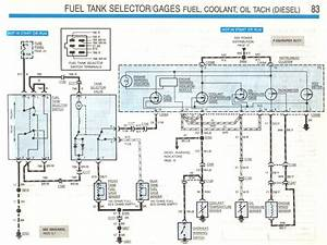 Where Can I Get A Fuel Diagram For A Ford 1988 Diesel Pickup F350 4 Wheel Drive