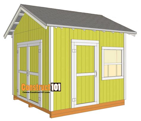 10x10 storage shed free shed plans with drawings material list free pdf