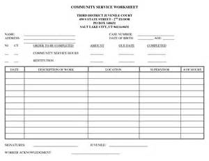 Community Service Log Template. 39 free log templates. free ...