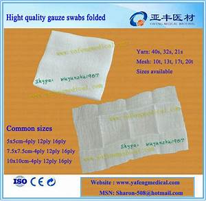 Medical Compresses Pads Sterile Gauze Surgical Dressing ...