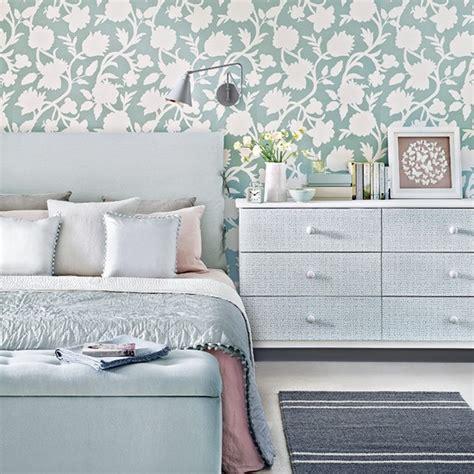 duck egg blue bedroom ideas wallpaper paint  bedding