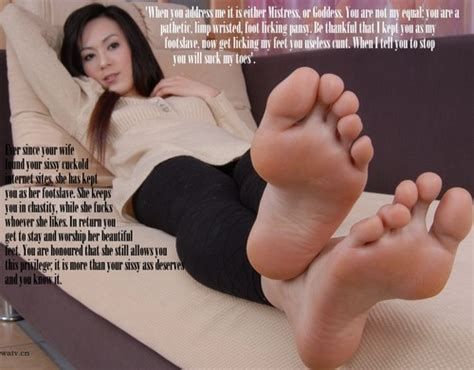 Cuckold Feet Caption 6