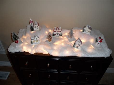 Semihomemade Christmas Village  Home Hinges  Home. Ideas For Interior Design Living Room. House Living Room Designs. Living Room Decorating Ideas. Taupe Color Living Room. Round Accent Tables For Living Room. Velvet Living Room Furniture. Toy Storage Ideas For Living Room. The Living Room Restaurant Calgary