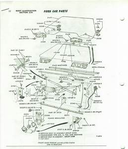 Need A 69 And 70 Mustang Side Glass Diagram