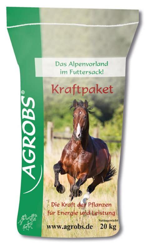 agrobs kraftpaket pflanzliches energiefutter fuer pferde