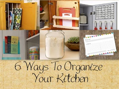 ways to organize a small kitchen 6 ways to help organize optimize the space in your 9606