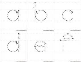 Big Tracing Letters Worksheets Alphabet