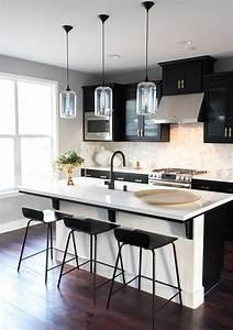 3, Gorgeous, Ways, To, Soften, Black, Kitchen, Cabinets
