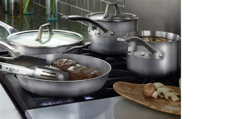calphalon cookware bakeware stainless steel kitchenware sauce cutlery saute