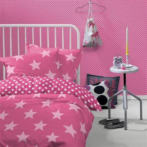 dekbed roze met sterren sterren dekbedovertrek 140x200 starville roze koalabedding