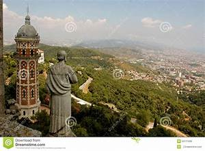 Temple Of The Sacred Heart In Barcelona Stock Image Image: 52111699