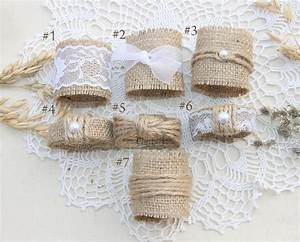 burlap wedding napkin rings rustic wedding decor rustic With wedding napkin rings ideas