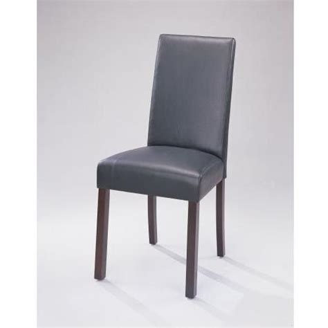 powell furniture vienna dining chair with black split