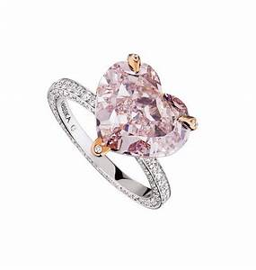 Fairest of them all why we love pink diamond engagement rings for Pink diamond wedding rings