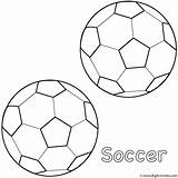 Coloring Soccer Ball Balls Drawing Football Father Goal Fathers Activity Printable Happy Sphere Bat Bigactivities Getcolorings Popular sketch template