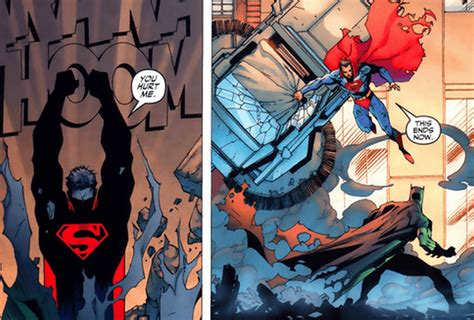 9 Great Times Superman Beat Up Batman