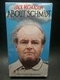 About Schmidt VHS movie 2003 Jack Nicholson Rated R cc 124 ...