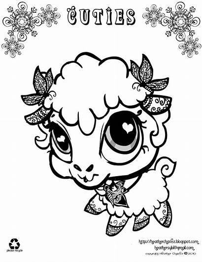 Coloring Pages Cutie Age