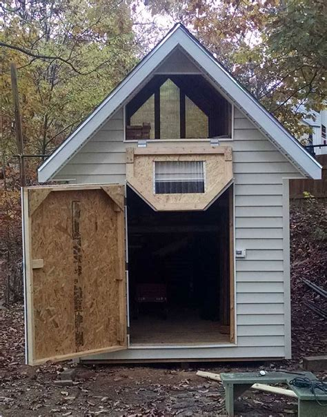 shed with loft deluxe gable roof shed photo gallery