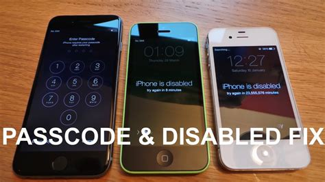 how to get into a disabled iphone new how to remove reset any disabled or password