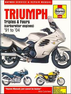 Triumph Trident  Sprint  Daytona Repair Manual 1991