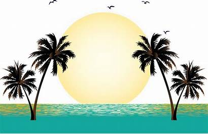 Vacation Sunset Graphics Clipart Hq Getdrawings Freepngclipart