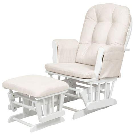 buy kub haywood glider nursing chair footstool white