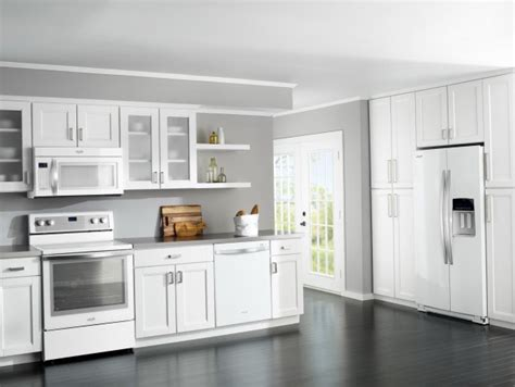white kitchen cabinets with white appliances 20 modern kitchen designs with white appliances housely