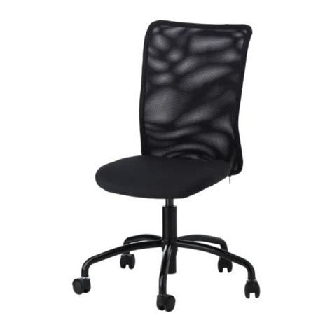 swivel rolling office chair neat patterned back no arms