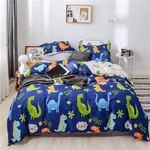 Cute, Dinosaur, Print, Jungle, Animal, Kids, Children, Twin, Full