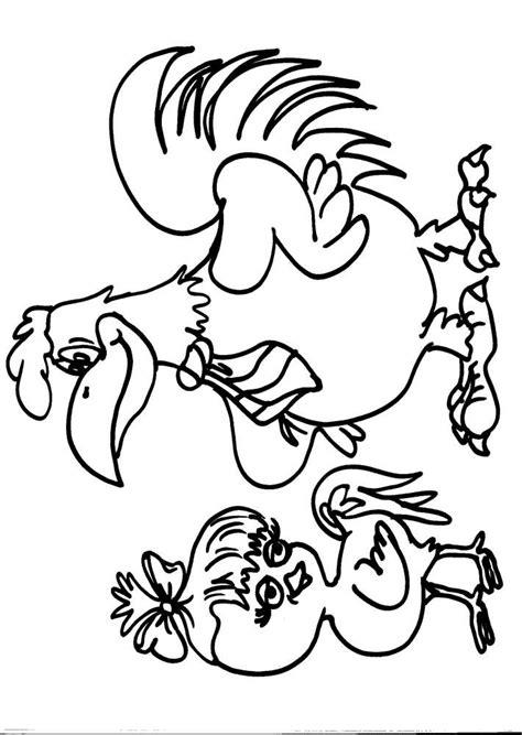 Animali Da Cortile Da Colorare by Disegno Gallina Da Colorare Disegno Pulcino Da Colorare