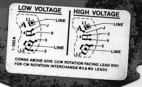 wiring baldor motor