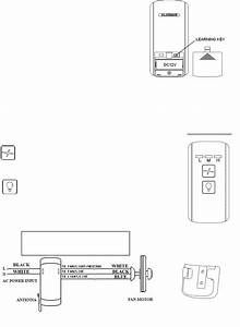 Chungear Co Ce9805 Ceiling Fan Remote Controller