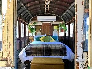 australia39s holiday homes converted from train carriages With interior design books australia